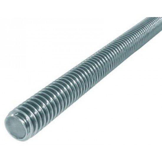 Шпилька для фланцевых соединений М16х1000 сталь 20 оцинкованная
