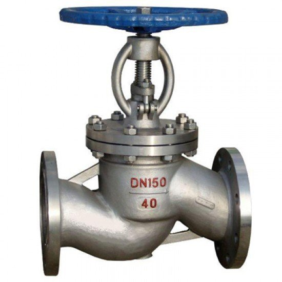 Клапан / вентиль нержавеющий запорный 15нж22нж Ду40 Ру40