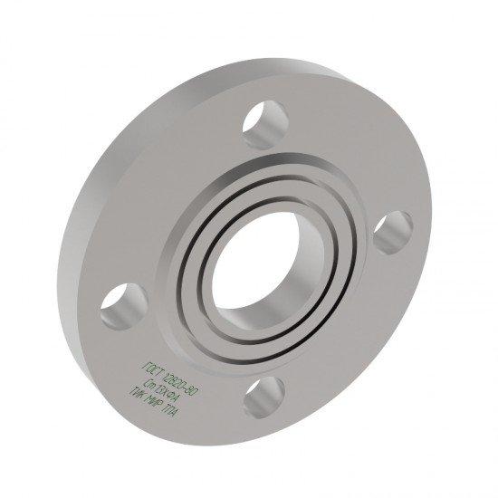 Фланец стальной плоский приварной 1 исполнение Ду800 Ру25 сталь 13ХФА ГОСТ 12820-80